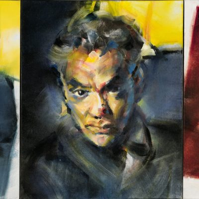 Three Studies for a Self-Portrait